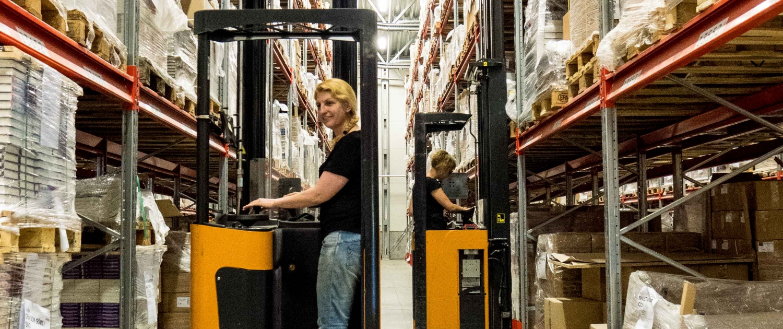 Truckförare i bokdistribution